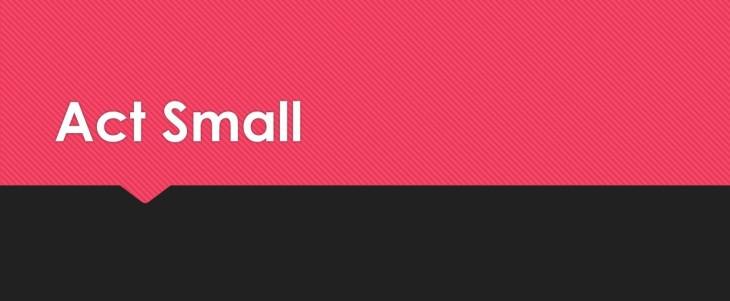 ActSmall